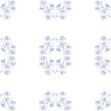 Seamless floral background. Royalty Free Stock Images