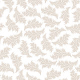 Seamless floral background. Excellent seamless floral leaves background. Vector illustration Royalty Free Stock Photo