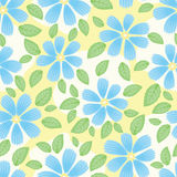 Seamless floral background Stock Image
