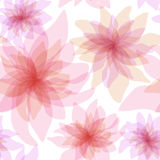 Seamless floral background. Colorful abstract seamless floral background Stock Photography