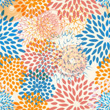 Seamless floral background Royalty Free Stock Images