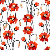 Seamless floral background. Stylish floral seamless pattern tapestry Royalty Free Stock Image