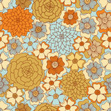 Seamless floral background. Stock Images