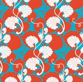 Seamless floral background. Royalty Free Stock Photo