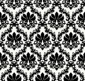 Seamless floral background. Repeat many times. Vector illustration Royalty Free Stock Photo