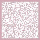Seamless  floral   background. Seamless pink abstract  floral   background Stock Image