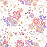 Seamless floral background. Seamless abstract floral background 1 Stock Photo