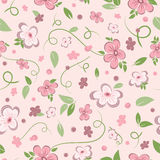 Seamless Floral Background. Seamless floral pattern background Stock Photography