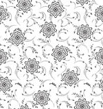 Seamless Floral-Background Royalty Free Stock Image