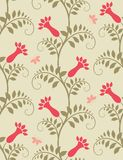 Seamless floral background. Vector illustration Royalty Free Stock Image