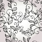 Seamless floral background with branches Royalty Free Stock Photos