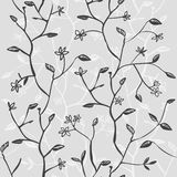 Seamless floral background. Hand drawn vector illustration. Eps-10 Royalty Free Stock Photography