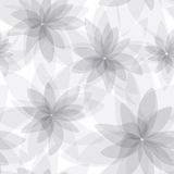 Seamless floral background. Monochromatic abstract seamless floral background Royalty Free Stock Photos