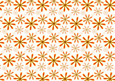 Seamless Floral Background Pattern. Backdrop with red and yellow flowers Stock Photos
