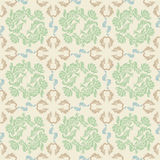 Seamless floral, background pattern, vector Royalty Free Stock Photos