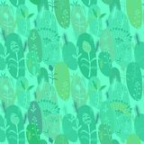 Seamless floral background Royalty Free Stock Photography