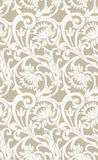 Seamless floral background with swirls and flowers Royalty Free Stock Photography