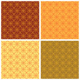 Seamless floral background tiles Royalty Free Stock Image