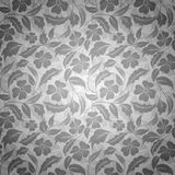 Double seamless floral pattern Royalty Free Stock Images