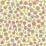 Seamless floral background in vector Stock Images