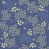 Seamless floral background in vector Royalty Free Stock Photo