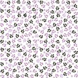 Seamless floral background in vector  Royalty Free Stock Photography