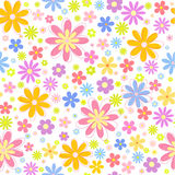 Seamless floral  background. Vector seamless abstract floral  background Stock Photos
