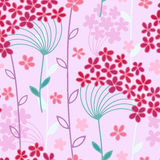 Seamless floral background Royalty Free Stock Photos