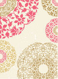 Seamless floral background. Vector illustration. royalty free illustration