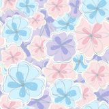 Seamless floral background. Vector illustration Royalty Free Stock Photo