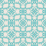 Blue abstract pattern royalty free illustration