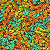 Seamless floral bright summer pattern Royalty Free Stock Photo