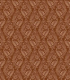 Seamless floral brown wallpaper Royalty Free Stock Images