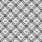 Seamless floral and butterfly pattern Royalty Free Stock Images