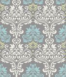 Seamless floral colorful pattern stock illustration