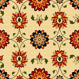 Seamless floral damask Stock Photography