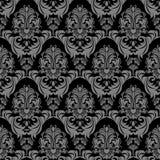 Seamless floral damask ornate Wallpaper for design Stock Image