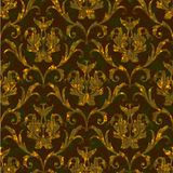 Seamless floral damask pattern background Royalty Free Stock Photo