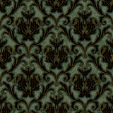 Seamless floral damask pattern background Royalty Free Stock Image