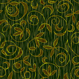 Seamless floral damask pattern background Royalty Free Stock Photos