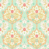 Seamless  floral damask pattern. Royalty Free Stock Image