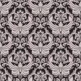 Seamless floral damask  Wallpaper for design Stock Images