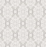 Seamless floral damask wallpaper Stock Photography