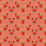 Seamless floral decorative pattern Royalty Free Stock Photography