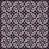 Seamless floral design dark Stock Photography