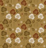 Seamless floral flower pattern royalty free illustration