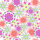 Seamless floral flower pattern Royalty Free Stock Photography