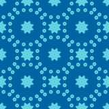 Seamless floral geometric pattern Royalty Free Stock Photography