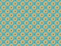 Seamless floral geometric pattern royalty free illustration
