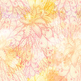 Seamless floral gradient pattern Royalty Free Stock Photo